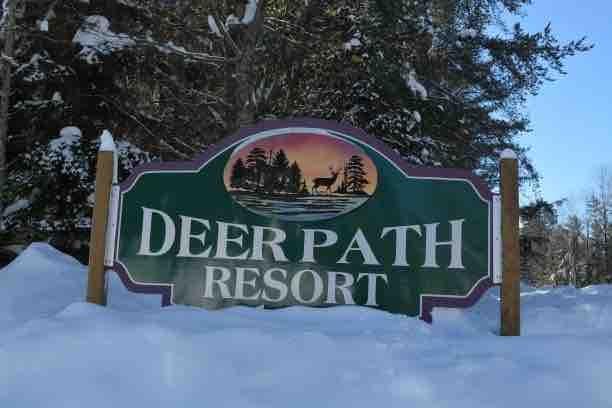 Deer-Path-Sign